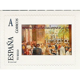 2007 Filatelia Lopez (mercado de sellos Plaza Real 1980)