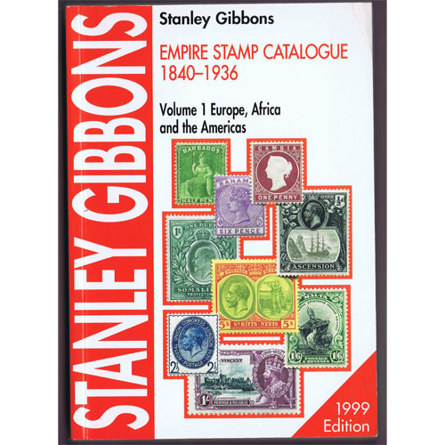 Stanley Gibbons Catálogo sellos Empire Stamps 1840-1936.