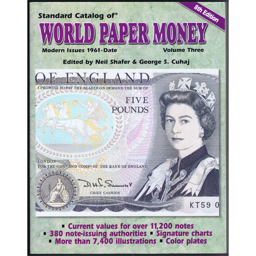 Catalogo billetes mundial WORLD PAPER desde 1961. Edicion 8.
